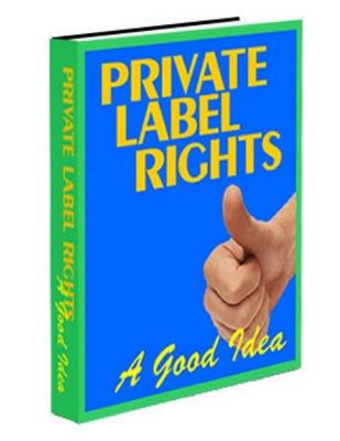 Product picture PLR - A good idea