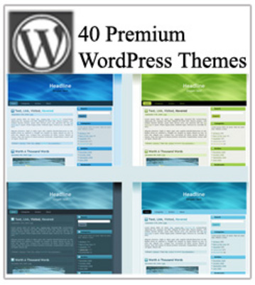 Product picture 40 Premium WordPress Themes
