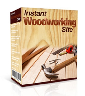 Product picture Instant WoodWorking Site