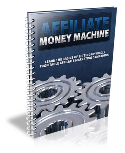 Product picture Affiliate Money Machine