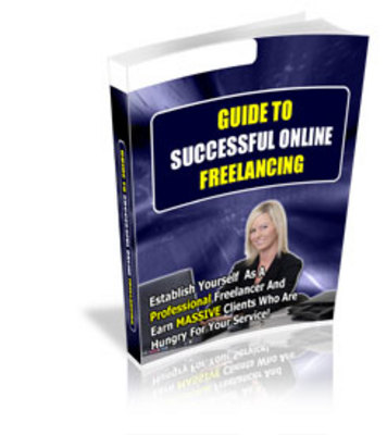 Product picture Guide To Successful Online Freelancing - New  with PLR